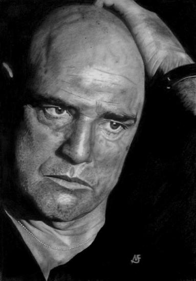 Marlon Brando par marcusfearnley